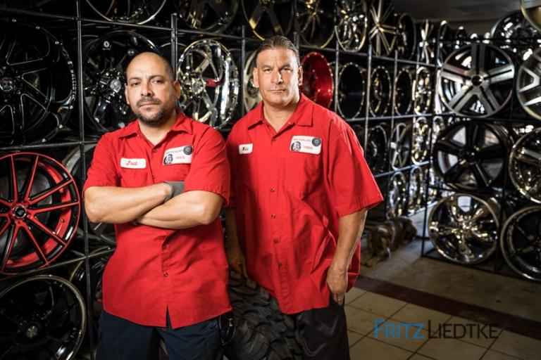Editorial photo of Latino business in Las Vegas