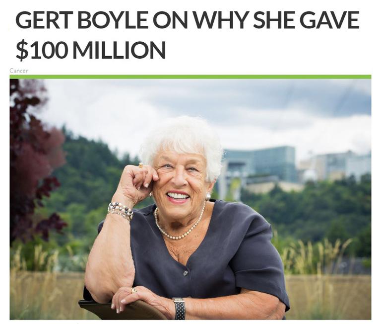 Gert Boyle OHSU